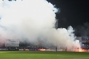 FCK-fans med romerlys