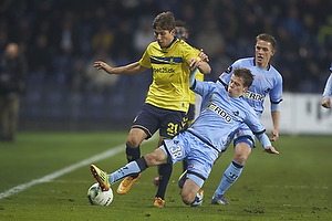 Andrew Hjulsager (Br�ndby IF), Nicolai Poulsen (Randers FC)