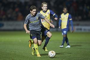 Andrew Hjulsager (Br�ndby IF), Rasmus Lynge Christensen (Hobro IK)