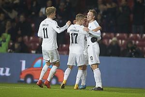 Nicolai J�rgensen, m�lscorer (FC K�benhavn), Andreas Cornelius (FC K�benhavn), Alexander Kacaniklic (FC K�benhavn)