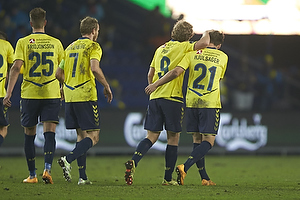 Andrew Hjulsager, m�lscorer (Br�ndby IF), Teemu Pukki (Br�ndby IF), Thomas Kahlenberg, anf�rer (Br�ndby IF)