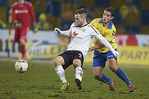 S�ren Lynge Poulsen (Skovbakken IK), Patrick Da Silva (Br�ndby IF)