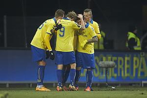 Kristoffer B�dker, m�lscorer (Skovbakken IK), Teemu Pukki (Br�ndby IF), Mikkel Thygesen (Br�ndby IF), Holmbert Fridjonsson (Br�ndby IF)