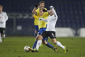 Teemu Pukki (Br�ndby IF), Daniel Sivertsen (Skovbakken IK)