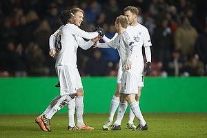 Daniel Amartey, m�lscorer (FC K�benhavn), Nicolai J�rgensen (FC K�benhavn)