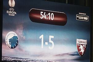 M�ltavlen med 1-5 til Torino FC