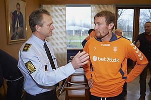 Knud Stadsgaard, chefpolitiinspekt�r (K�benhavns Vestegns Politi)