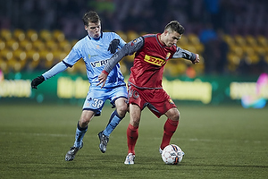 Martin Vingaard (FC Nordsj�lland), Nicolai Poulsen (Randers FC)