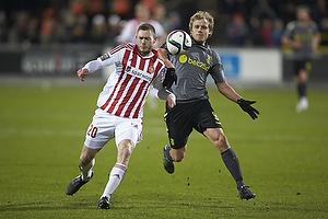 Henrik Dalsgaard (Aab), Teemu Pukki (Br�ndby IF)