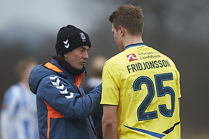 Thomas Frank, cheftr�ner (Br�ndby IF), Holmbert Fridjonsson (Br�ndby IF)