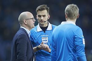 Per Rud, sportschef (Br�ndby IF), Kenn Hansen, dommer