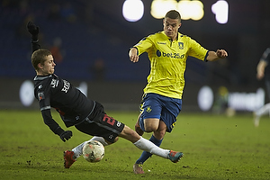 Patrick Da Silva (Br�ndby IF), Andre R�mer (FC Midtjylland)