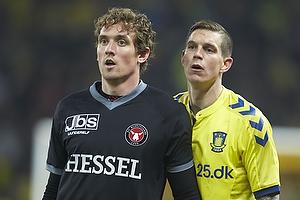 Morten Duncan Rasmussen (FC Midtjylland), Daniel Agger (Br�ndby IF)
