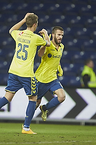 Ferhan Hasani, m�lscorer (Br�ndby IF), Holmbert Fridjonsson (Br�ndby IF)