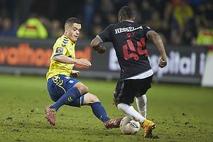 Patrick Da Silva (Br�ndby IF), Sylvester Igboun (FC Midtjylland)