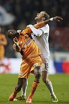 Djiby Fall (Randers FC), Chris S�rensen (Randers FC)