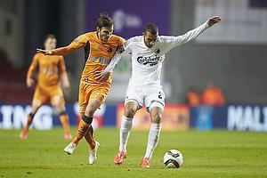 Elmar Bjarnason (Randers FC), Youssef Toutouh (FC K�benhavn)