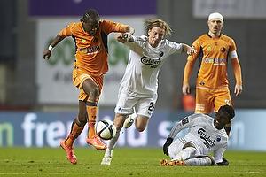 Djiby Fall (Randers FC), Christian Poulsen (FC K�benhavn)