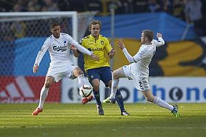 Teemu Pukki (Br�ndby IF), Tom H�gli (FC K�benhavn)
