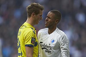 Holmbert Fridjonsson (Br�ndby IF), Mathias Zanka J�rgensen (FC K�benhavn)