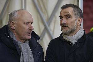 Niels-Christian Holmstr�m, bestyrelsesmedlem, holdleder (FC K�benhavn), Anders H�rsholt, direkt�r (FC K�benhavn)