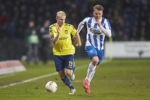 Johan Larsson (Br�ndby IF), Emil Larsen (Ob)