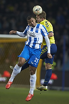 Martin Albrechtsen (Br�ndby IF), Kenneth Zohore (Ob)