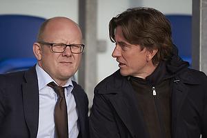 Per Rud, sportschef (Br�ndby IF), Thomas Frank, cheftr�ner (Br�ndby IF)