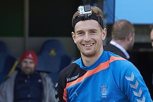 Lukas Hradecky (Br�ndby IF) med gopro kamera