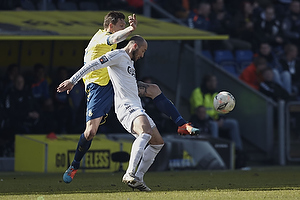 Daniel Agger (Br�ndby IF), Steve De Ridder (FC K�benhavn)