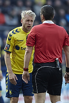 Johan Larsson (Br�ndby IF), Michael Tykgaard, dommer