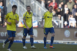 Martin Albrechtsen (Br�ndby IF), Daniel Agger (Br�ndby IF)