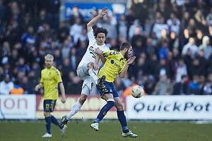 Thomas Delaney, anf�rer (FC K�benhavn), Ferhan Hasani (Br�ndby IF)
