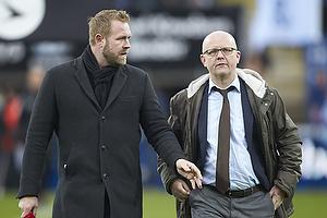 Joachim Boldsen (Viasat), Per Rud, sportschef (Br�ndby IF)
