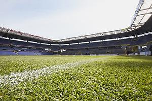 Det nye gr�st�ppe p� Br�ndby Stadion