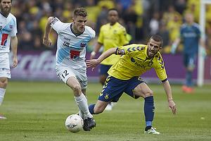 Jonas Damborg (Hobro IK), Ferhan Hasani (Br�ndby IF)