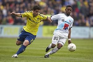 Patrick Da Silva (Br�ndby IF), Quincy Antipas (Hobro IK)
