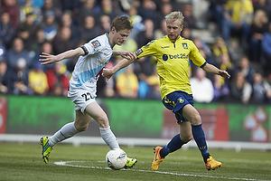 Mads Hvilsom (Hobro IK), Johan Larsson (Br�ndby IF)