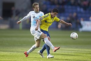 Patrick Da Silva (Br�ndby IF), Rasmus Lynge Christensen (Hobro IK)