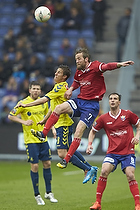 Alexander Szymanowski (Br�ndby IF), Peter Nymann (FC Vestsj�lland)