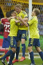 Nikolai Laursen, m�lscorer (Br�ndby IF), Patrick Da Silva (Br�ndby IF)