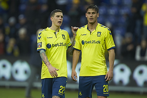 Daniel Agger, anf�rer (Br�ndby IF), Dario Dumic (Br�ndby IF)