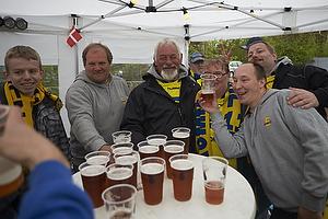 Br�ndby Support holder f�dselsdag i Hytten