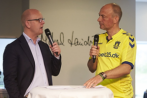 Per Rud, sportschef (Br�ndby IF), Peter Tanev, tv-v�rt