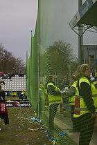 Net opsat foran Br�ndbys fans