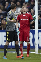 Lukas Hradecky (Br�ndby IF), Daniel Agger (Br�ndby IF)