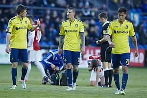Martin �rnskov (Br�ndby IF), Daniel Agger, anf�rer (Br�ndby IF), Dario Dumic (Br�ndby IF)