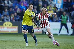 Daniel Agger (Br�ndby IF), Kasper Pedersen (Aab)