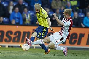 Johan Larsson (Br�ndby IF), Kasper Pedersen (Aab)