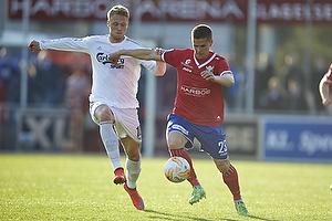 Nicolai J�rgensen (FC K�benhavn), Marvin Pourie (FC K�benhavn)